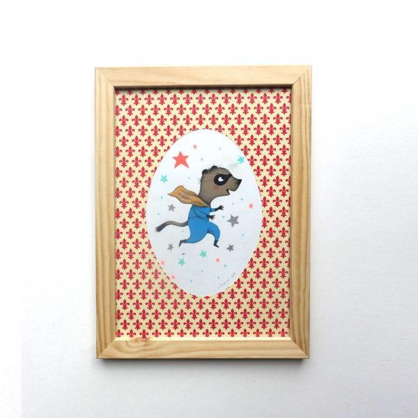 super-hero-panthere-celine-chevrel-illustration